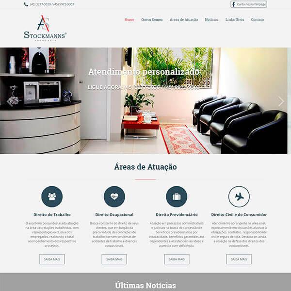 Site Institucional / Wordpress
